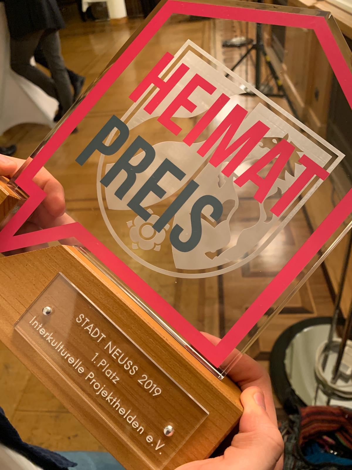 Heimatpreis Interkulturelle Projekthelden