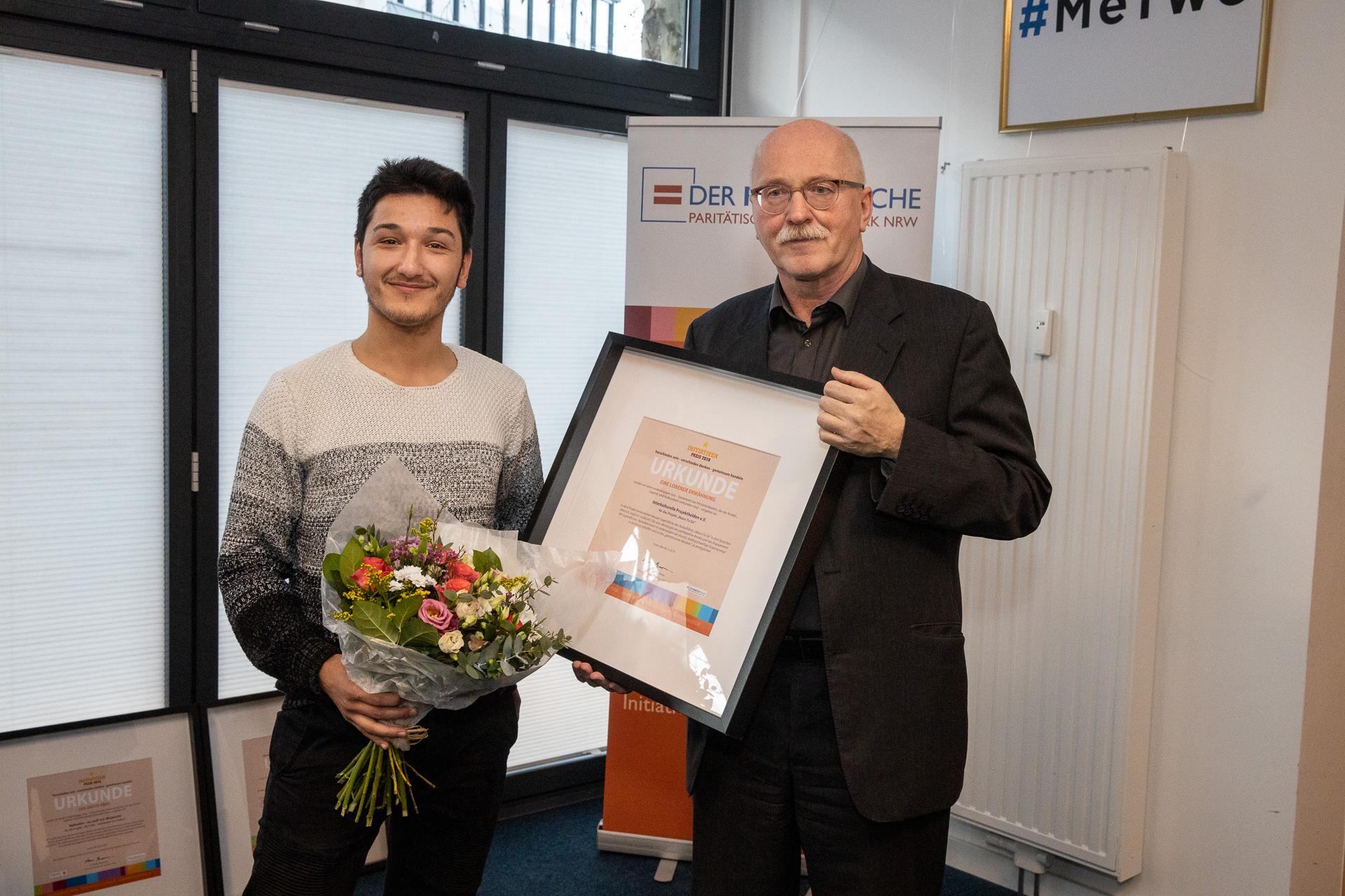 Auszeichnung Projekthelden