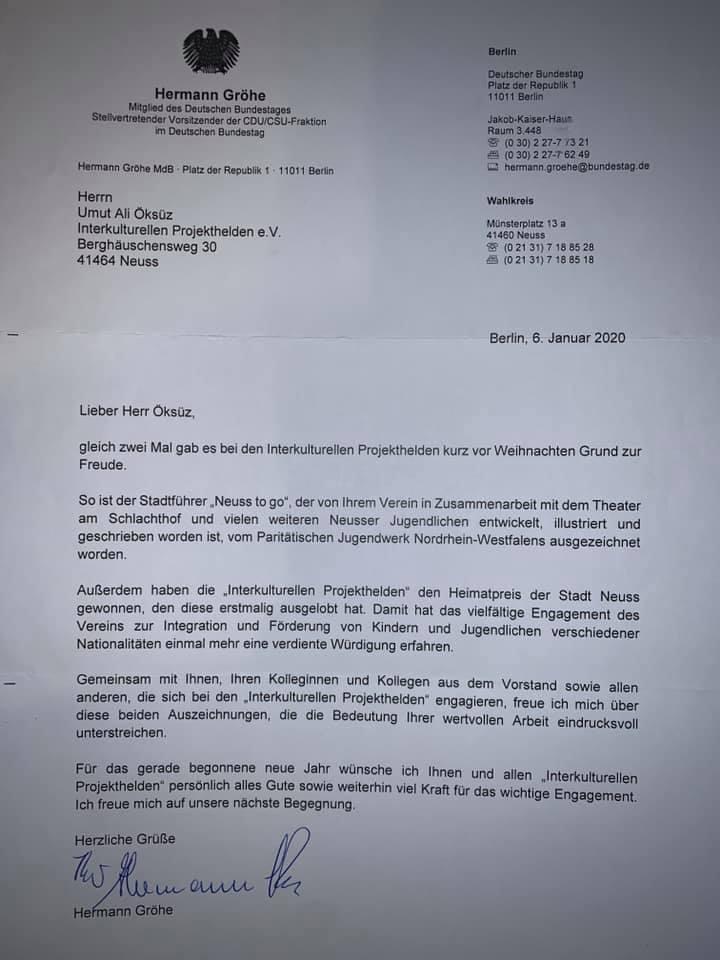 Hermann Gröhe Projekthelden