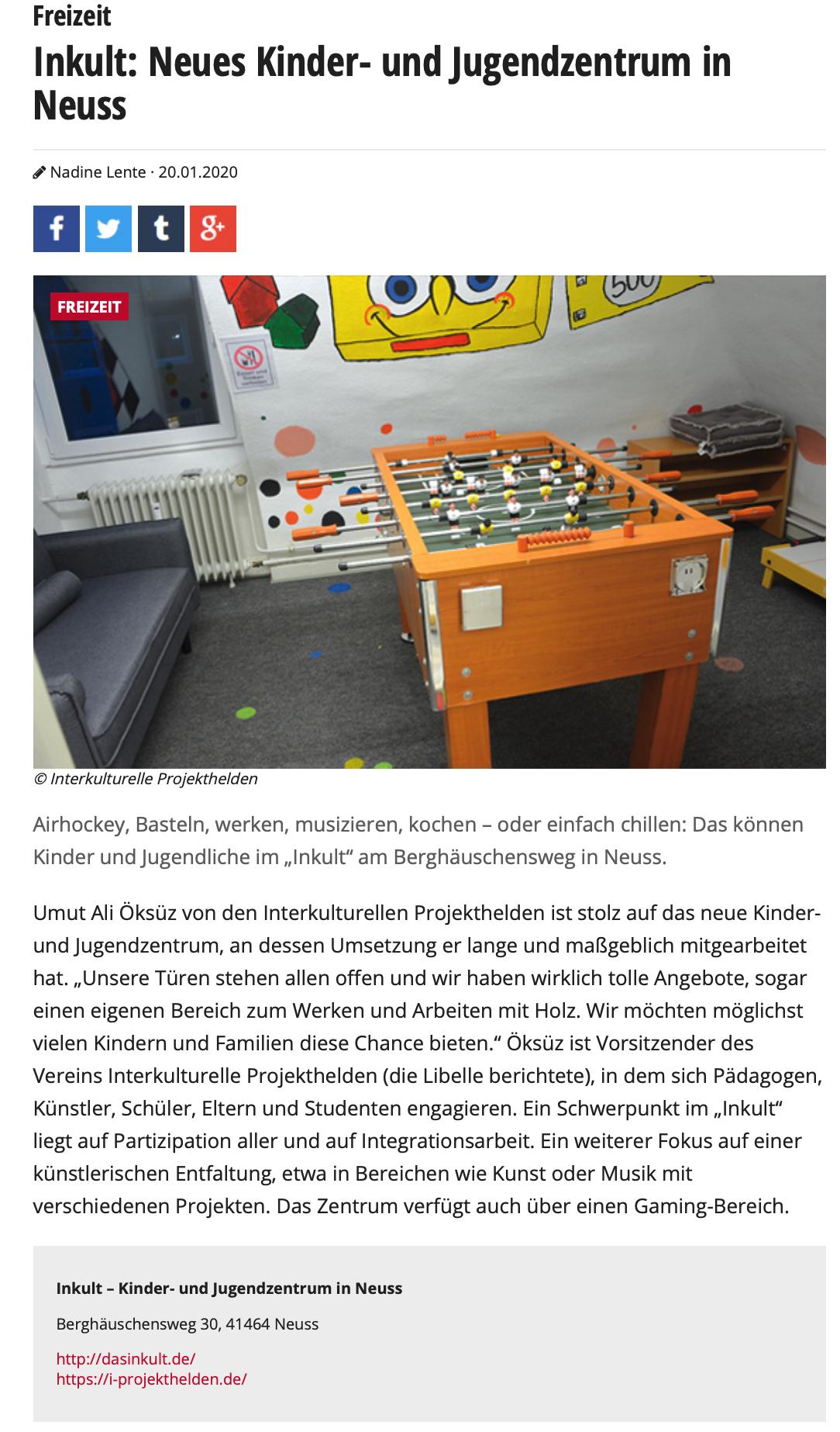 Libelle Magazin InKult