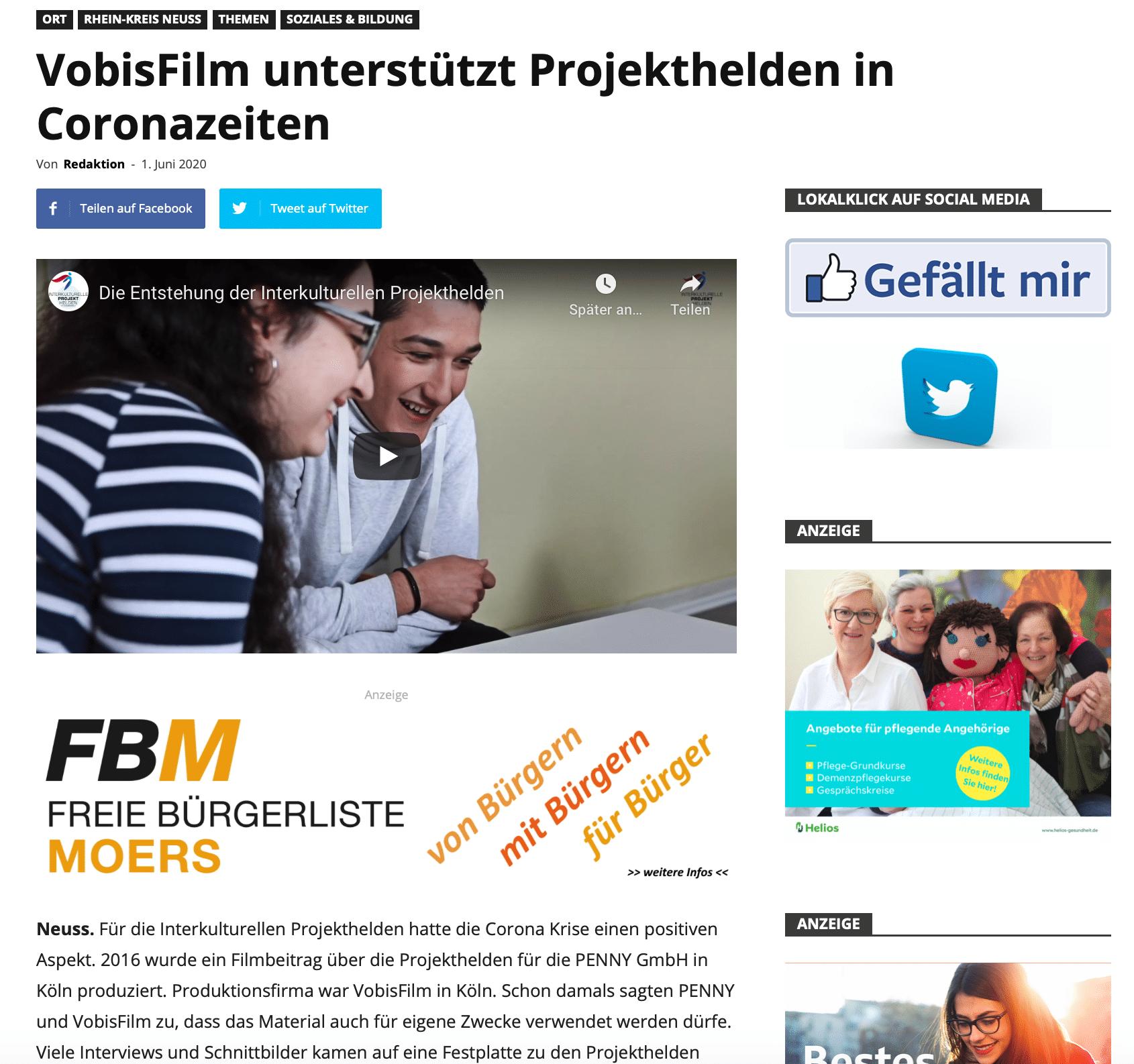 Interkulturelle Projekthelden